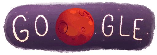 Evidence of water found on Mars | September 29, 2015 | Google Doodles