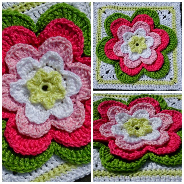 Mejores 70 imágenes de Granny squares en Pinterest | Patrones de ...