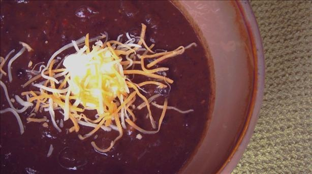 Panera Black Bean Soup from CopyCat recipes