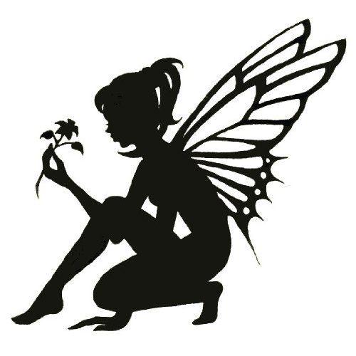 Silhouette Fairy
