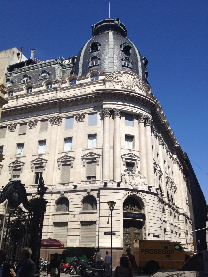 One of the beautiful corners of Buenos Aires