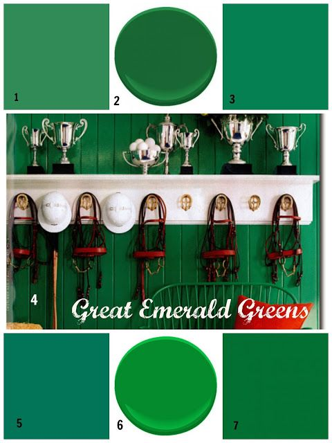 My Top 8 Favorite Emerald Green Paint Colors - Perfect Paints Portfolio Benjamin Moore - Seaweed Green