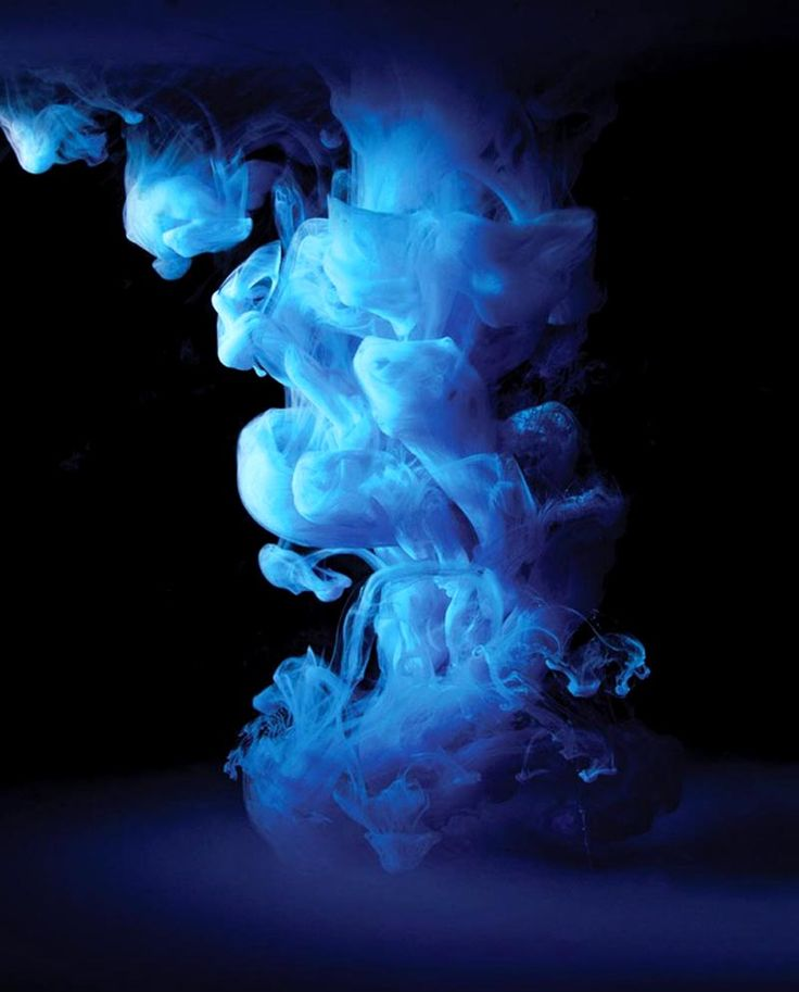 Mark Mawson - Aqueous, 2012 - colored ink in water.