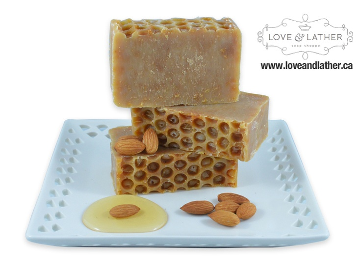 Honey She's Nuts! Natural Cold Process Soap