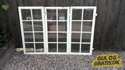 3 stk vinduesrammer uden karm, billede 1
