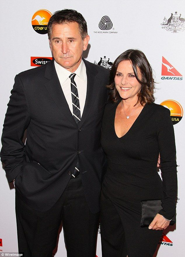 Splitsville: Anthony LaPaglia and ex-wife Gia Carides have sold their marital home in Los Angeles for AUD$11million ($8.2million US), notably less than the earlier asking price of AUD15.2million ($11 million US)