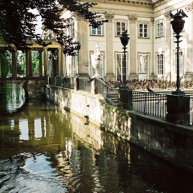 Lazienki Palace - Warsaw, Poland  | by © Peter Gutierrez | via ysvoice. . .The Palace on the Water. .. beautiful