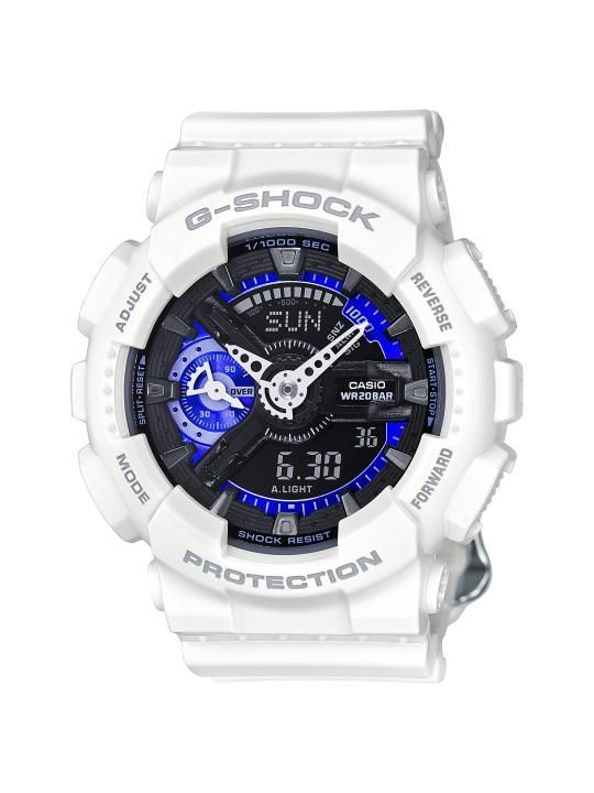 G-Shock & Nicholas K Cool White Watch, Price Upon Request, nicholask.com
