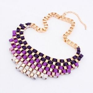 lila necklace