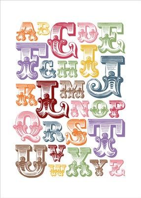 Circus Alphabet Print by Alpha Bites…