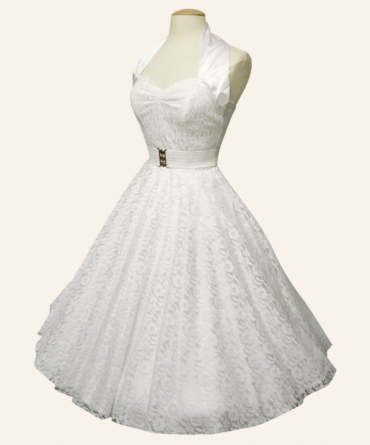 17 best ideas about 50s wedding dresses on