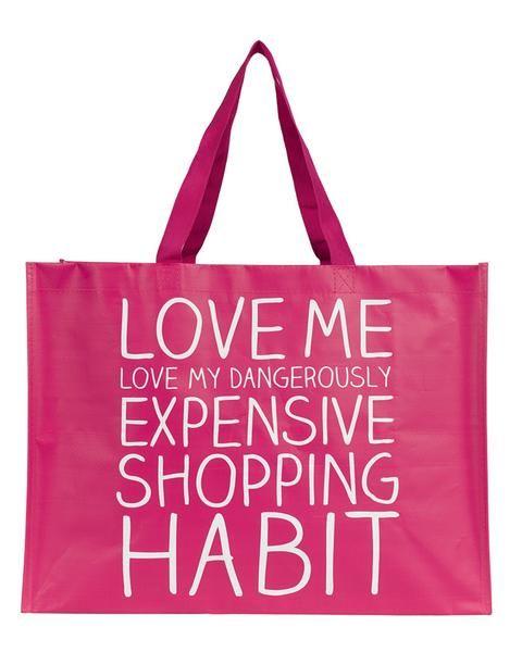 'Love Me' Medium Tote Bag