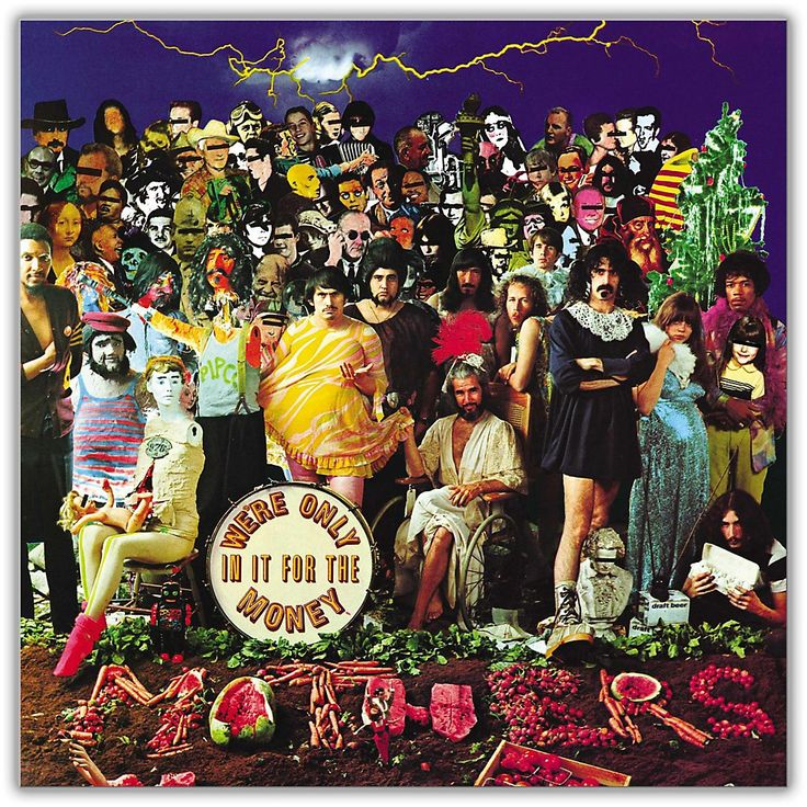 Universal Music Group Frank Zappa - We're Only In It For The Money [LP
