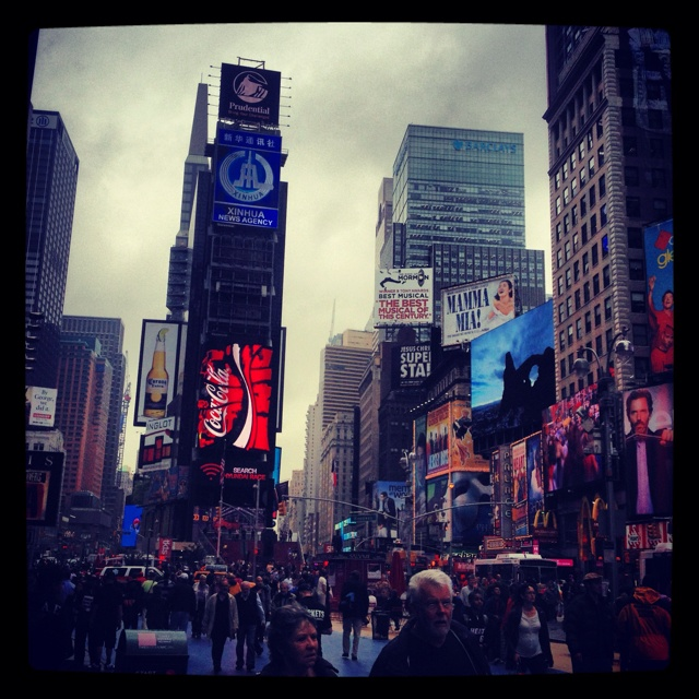 Times square : new York city