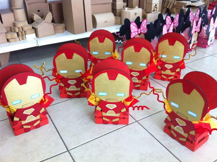 Centro de Mesa Iron Man