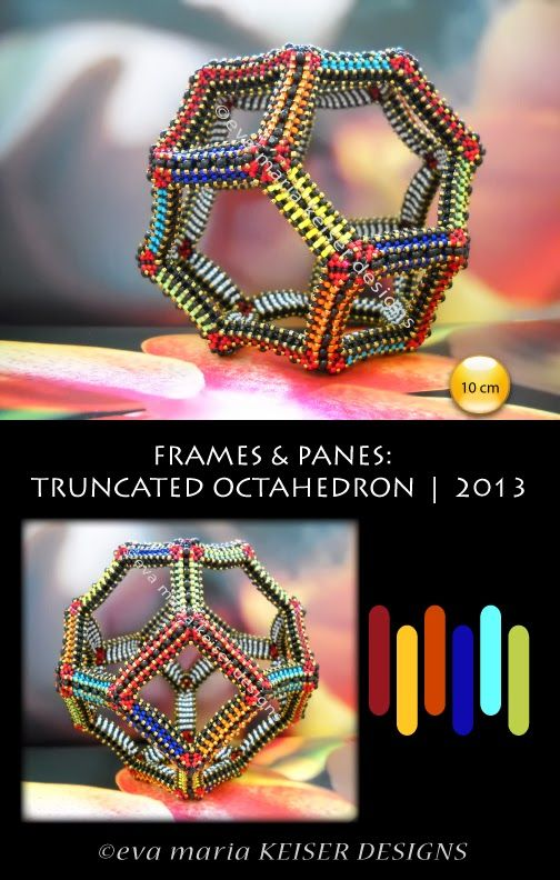 Keiser Designs Frames and Panes: Truncated Octahedron | 2013