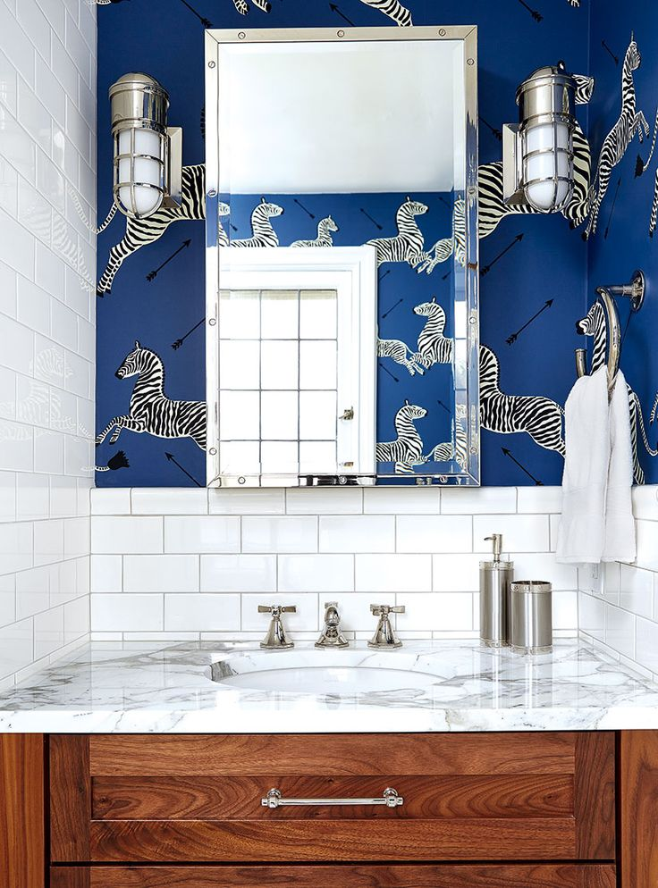 145 Best Powder Rooms Images On Pinterest Bathroom Ideas