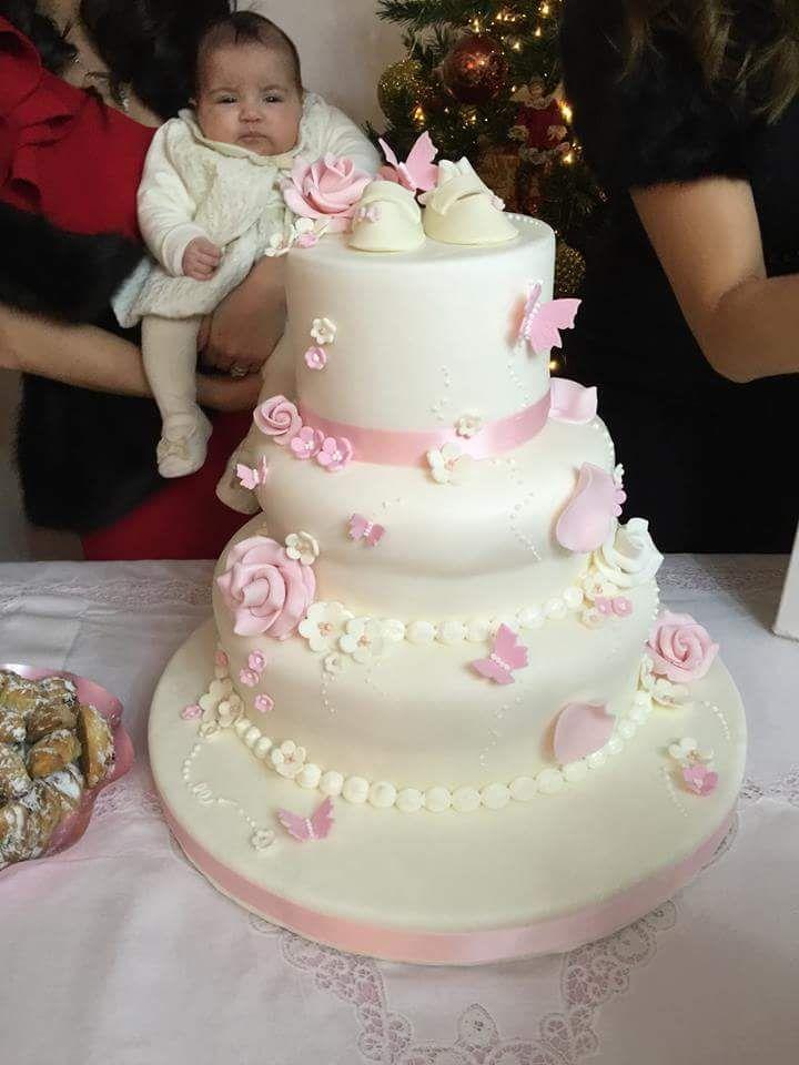 battesimo cake torta