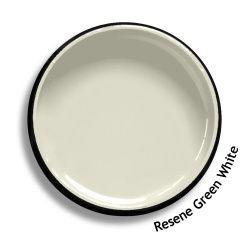 Resene Green White