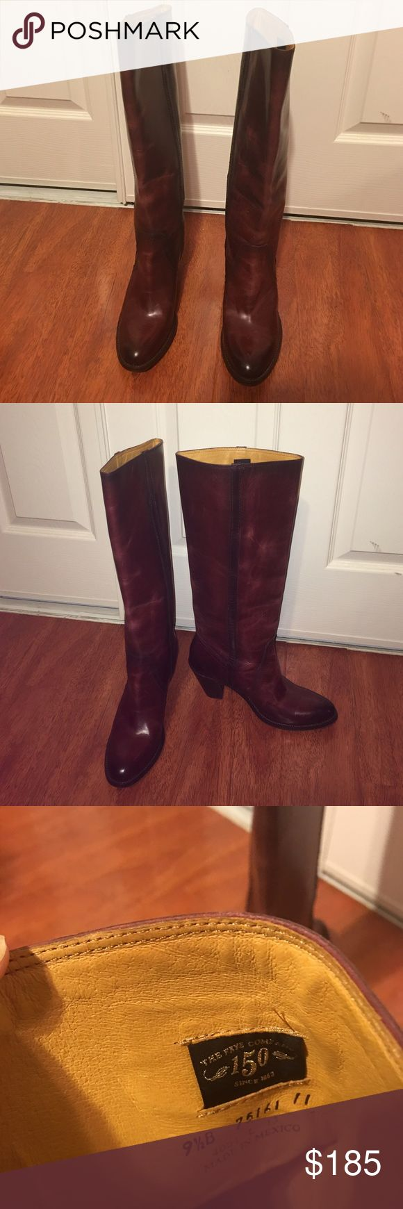 🎉Sale🎉!! Frye Mustang Pull On Boots!! These boots are part of the 150th anniversary collection. They are in excellent condition. No box. Offers Welcome 😊 Frye Shoes