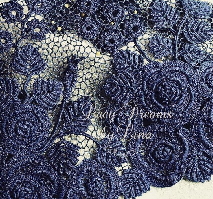 #crochet #irishlace #roses #lace #crocheting #handcrochetlace