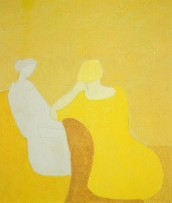 "redmorninglight:    (via Sign""' / milton avery)Yellow Art, Figures Art, Artists Milton Avery, Avery American, Colors Art, Avery 1960, American Artists, Art Attack, Oil Painting"