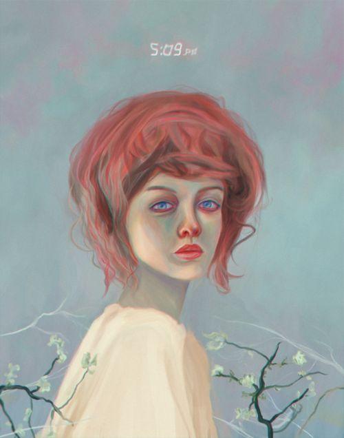 Miguel Devia, Sonata, painted between tenderness