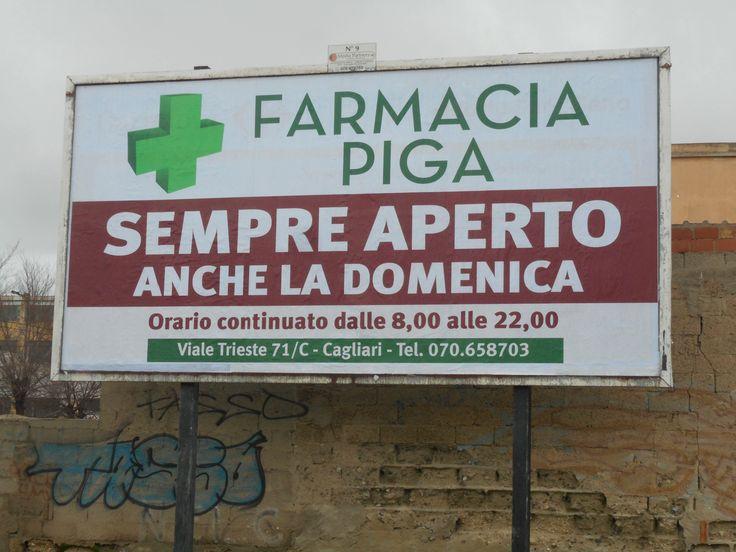 Cagliari, Farmacia Piga