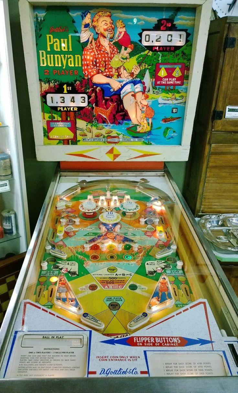 Vintage carnival ride www imgarcade com online image arcade - Paul Bunyan Pinball Machine