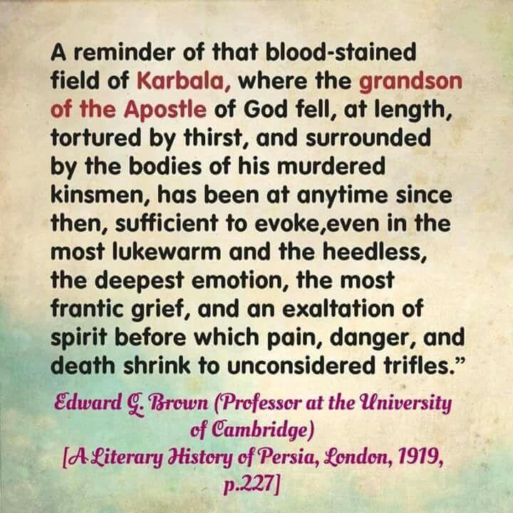 Edward Brown #muharramulharam #ayameazaa #Twelver #AhleBayt #ImamAli #ProphetMuhammad