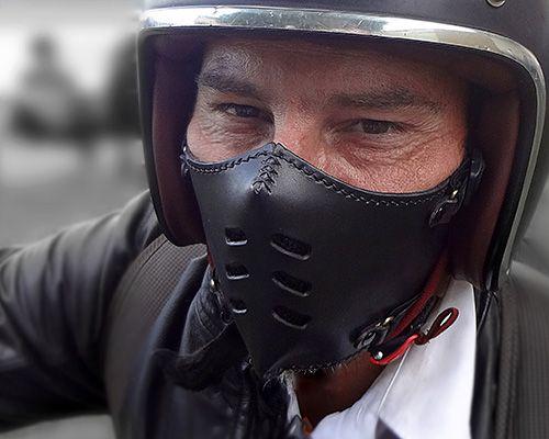 Masques Moto En Cuir Bōken E Shop Leather Motorcycle