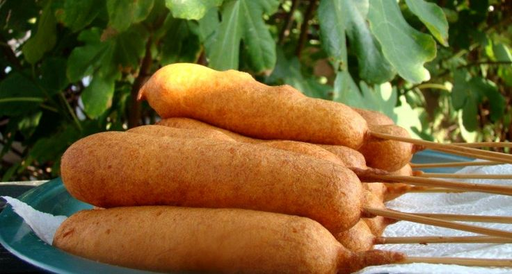 Corn dog recept