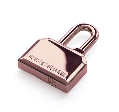 Rose Gold House of Holland Padlock Keyring.  http://www.zocko.com/z/JEoSM