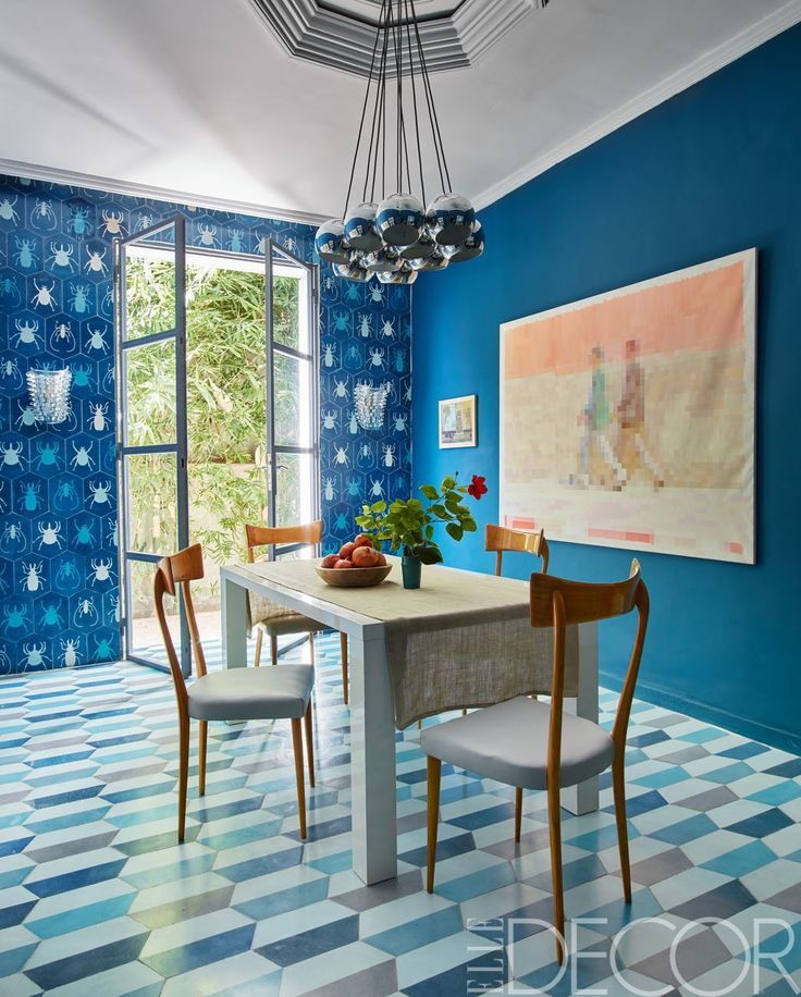 HOUSE TOUR: A 1950s Home In Morocco Mixes Pattern To Perfection - ELLEDecor.com