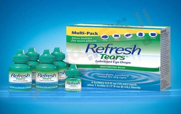 دواء ريفرش تيرس Refresh Tears قطرة للعين ت ساعد في تخفيف الآلام التي تنتج من جفاف العين حيث أن بعض الأشخاص يتع Lubricant Eye Drops Eye Drops Bottles For Sale
