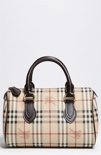 e6cba199b030 Burberry  Haymarket Check  Satchel available at  Nordstrom I THINK i may  buy this