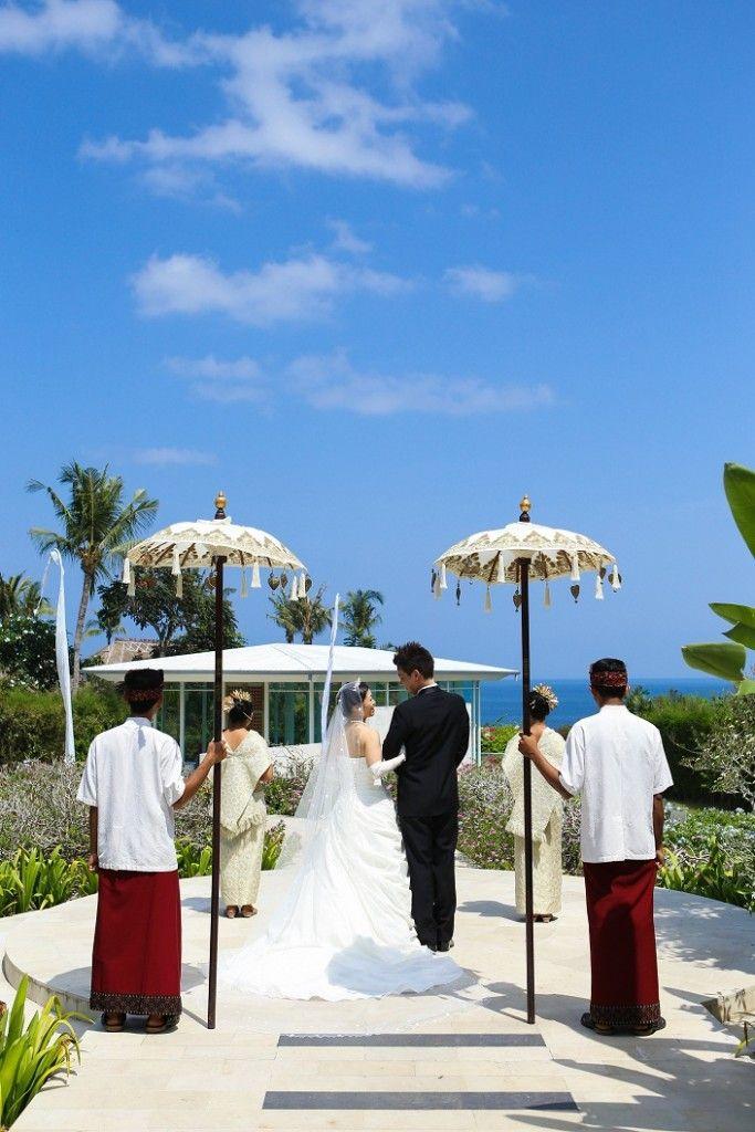 南国の鳥ピカルガーデンで青空ウェディング♡水路に囲まれたアスティナチャペルでロマンチックなウェディング♪バリでの結婚式一覧♡ウェディング・ブライダルの参考に♡