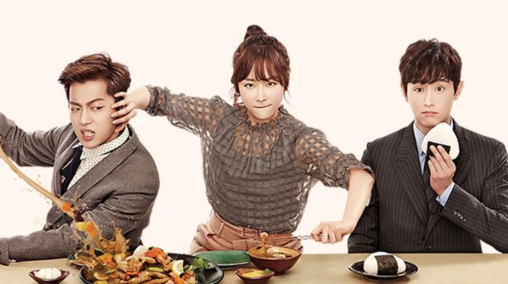 Let's Eat 2  : Koo Dae-Young (Yoon Doo-Joon) moves to a new area and meets his new neighbors including Baek Soo-Ji (Seo Hyun-Jin), a freelance writer who eats once a day and Lee Sang-Woo (Kwon Yool), a public officer and often admired by women.