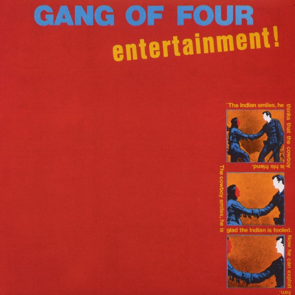 """#8: """"Entertainment!"""" by Gang of Four - listen with YouTube, Spotify, Rdio & Deezer on LetsLoop.com"""
