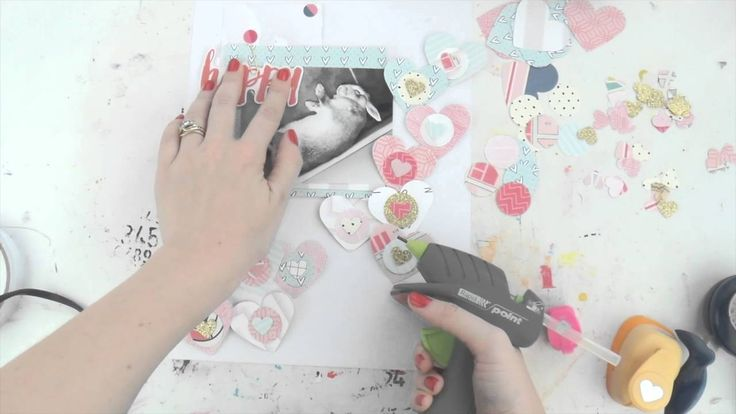 Dead Bunny Flop ~ Scraptastic Scrapbooking Process Video
