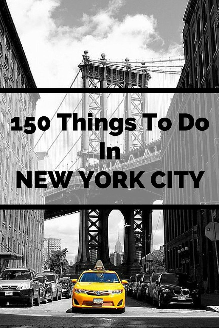 Great List...what locals do in New York City...neighborhoods, restaurants, sightseeing, museums, etc.