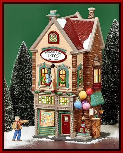 Nicholas & Co. Toys NEW Department Dept. 56 Christmas In The City Village CIC