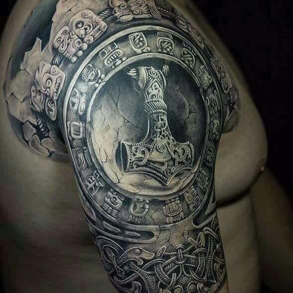 Celtic Sun Tattoo Designs