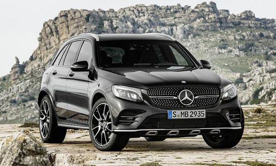 Mercedes подготовил высокопроизводительную версию AMG кроссовера GLC | Новости автомира на dealerON.ru