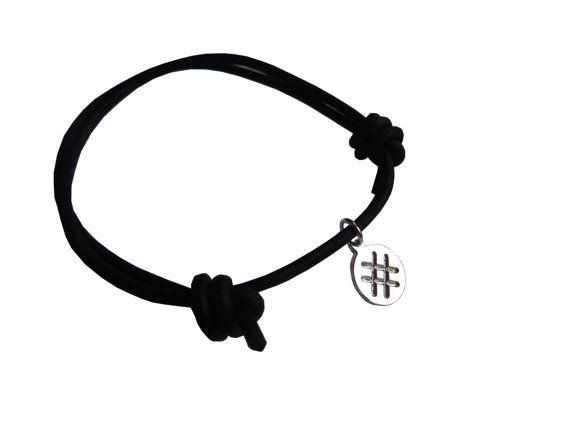 STAR - protection - sign bracelet- handmade sterling silver 925 pendant on leather cord http://www.3windknots.com/en/jewelry-103153/make-a-wish-jewels-103651/latvju-raksti-un-ziimes-103997