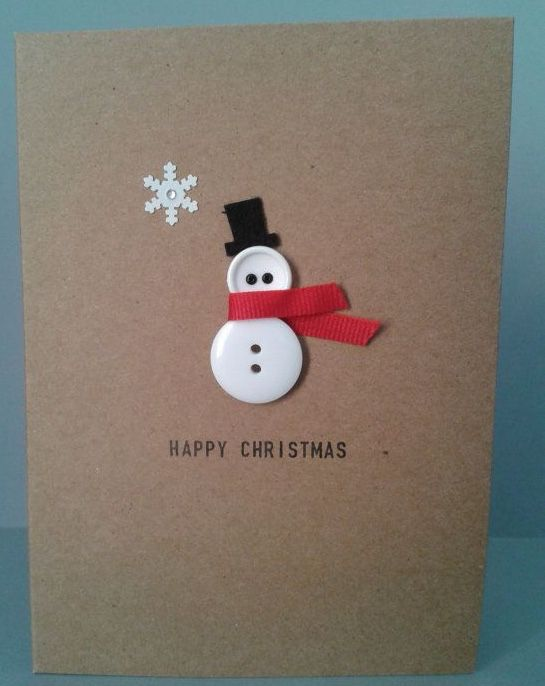 Need to make some sweet little Christmas Cards like these!