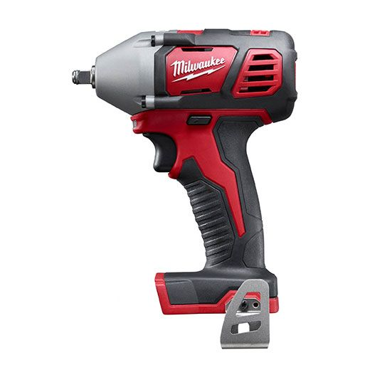 "Milwaukee 2658-20, M18 3/8"" Impact Wrench with Friction Ring http://cf-t.com/product/milwaukee-2658-20-m18-3-8inch-compact-impact-wrench-with-friction-ring/"