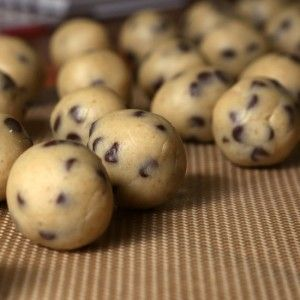 Cannabis Chocolate Chip Cookie Dough Truffles - Marijuana Recipes