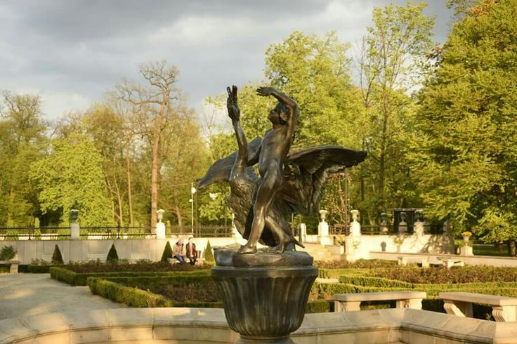 Wilanów gardens.  Warsaw.