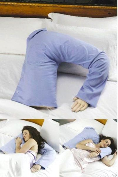 "I have found my next white elephant gift!! ""Boyfriend Arm Pillows are a wonderful solution for women who are lonely and craving for physical or manly comfort while sleeping or relaxing. If you are feeling lonely because you do not have a boyfriend or because your husband or boyfriend is away from you then the Boyfriend Arm pillow can be your perfect companion.""  HAHAHAHAHAHA! :) I kinda want one"